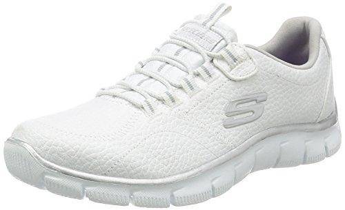 Zapatillas Skechers Flex Appeal, Pretty City, para mujer, color Blanco, talla 42 EU