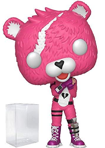Fortnite – Cuddle Team Leader Funko Pop! Figura de vinilo (incluye funda protectora compatible con Pop Box)