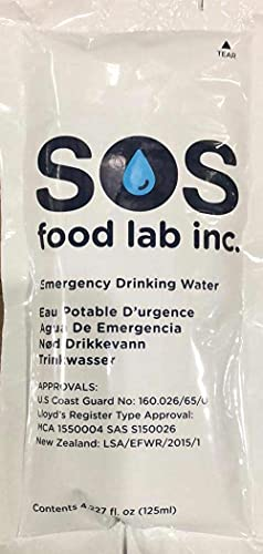 SOS Emergency Water Pouches Survival Kits