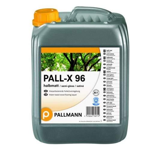Pallmann Pall-X 96 5L halbmatt 1K-Parkettversiegelung, vers. Größen und Glanzgrad, für Wohn- und Gewerbebereiche