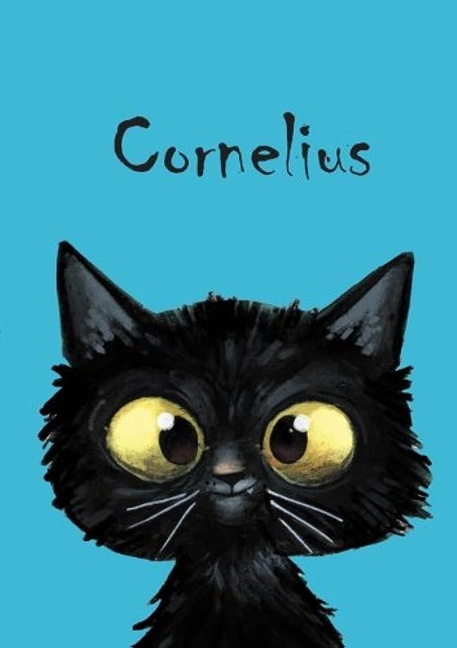 残忍な渇きワックスCornelius: Cornelius - Katzen - Malbuch / Notizbuch / Tagebuch: A5 - blanko