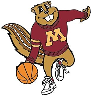 9 inch UMn University of Minnesota Golden Gophers Logo Removable Wall Decal Sticker Art NCAA Home Room Decor 9 x 3 1//2 inches