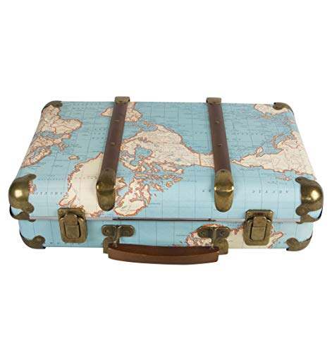 Sass & Belle Around The World Vintage Map Suitcase...