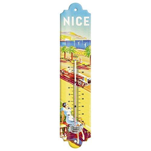 Editions Clouet 57089 - Thermomètre 30x8 cm PLM - La Promenade des Anglais - Nice