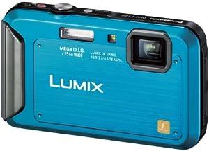 パナソニック デジタルカメラ ルミックス 防水モデル コーラルブルー DMC-FT20-A