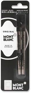 Montblanc Rollerball Pen Refill, Medium Point, Black, Pack of 2 (MNB15158)