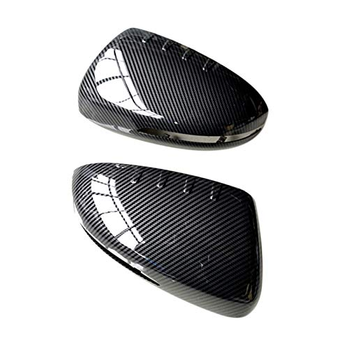 SHUAI Carbon Fiber Rearview Mirror Cover Side Door Mirror Caps Protector Fit for KIA K5 Optima 2011 2012 2013 2014 2015 (Color : Carbon Fiber)