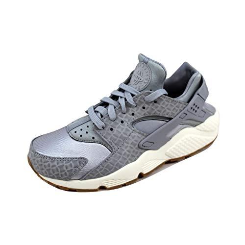 Nike Scarpe Air Huarache Run Premium TG 37.5 cod 683818-012 - 9W [US6.5 CM23.5]
