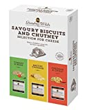 Grandma Wild's - Savoury Biscuits and Chutney Selection for Cheese - 495g...