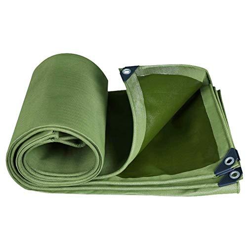 Zhuan - Lona impermeable para proteger el sol, resistente al agua, para el suelo, para el suelo, para el suelo, para el suelo, para el patio, 17 tamaños (color: verde, tamaño: 2 x 3,5 m)