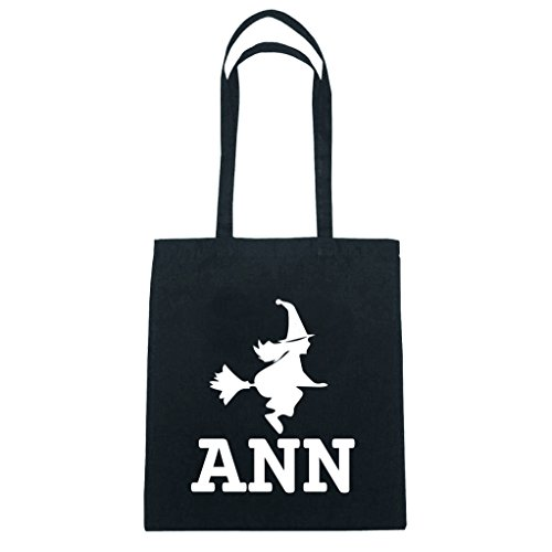 JOllify Baumwolltasche Halloween für ANN - Hexe