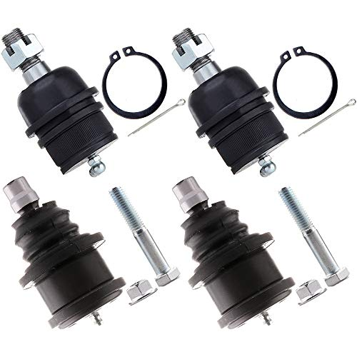 SCITOO 4pcs Front Suspension Kit - Ball Joints Upper And Lower Kit for Ford...