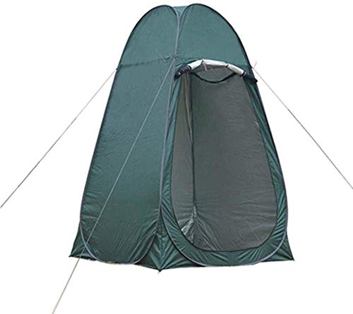 LYYJIAJU Outdoor privacy WC Tents Pop-Up Tent for Camping,Pod Toilet Tent Beach Dome Tents for Changing Dressing/Fishing/Shower Storage Room, Privacy Cloakroom (Color : Green)