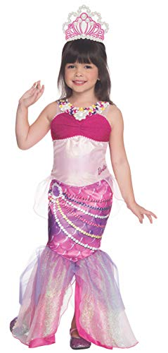Rubies Barbie and The Pearl Princess Deluxe Lumina Costume, Toddler Size