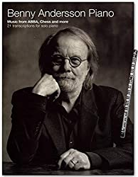 Music from ABBA - Chess and more - 21 pièces pour piano solo - Benny Andersson Piano - Livre de partitions avec crayon - AM1013342 9781785588754