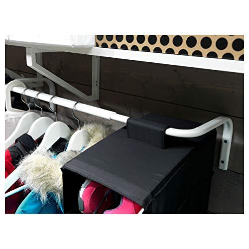 IKEA MULIG Kleiderstange 26x16 cm weiß