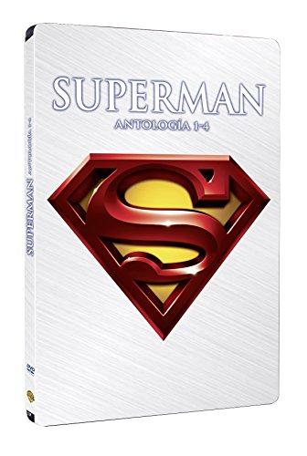 Superman I+Ii+Iii+Iv Steelbook [DVD]