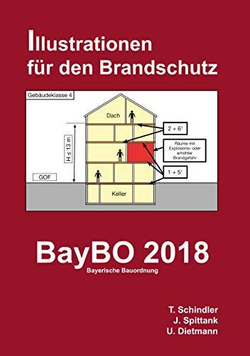 BayBO 2018 - Bayerische Bauordnung: Illustrationen für den Brandschutz (Illustriert für den Brandschutz)