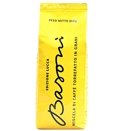 Espresso Lucca - ganze Bohnen - Geschmack nach gelben Früchten und Honig - langsame Trommelröstung
