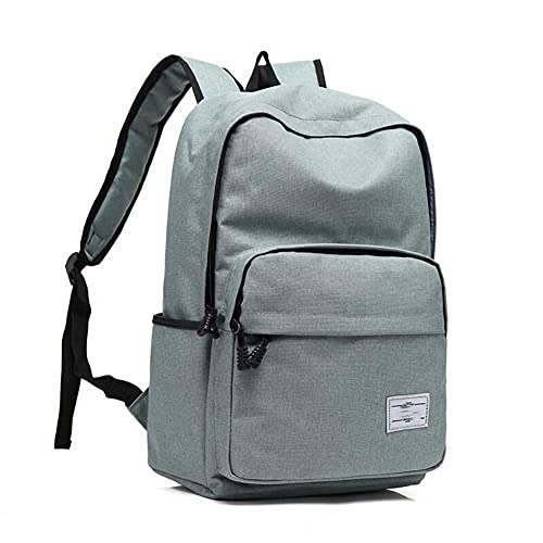 ZLIANGQ Male And Female Travel Bag, Men And Women Korean Version of Youth Antitheft Backpack, Fashion Tidal Crack Backpack