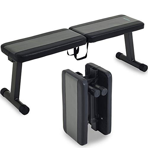 Prevention Flat Foldable Weight Bench  $99 at Amazon