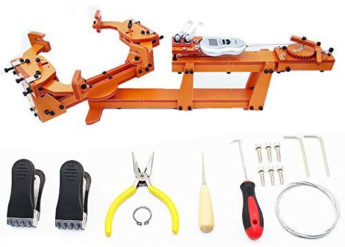 Isunking Tipo de cabrestante Personal DIY máquina de encordar la Raqueta de bádminton Tirando de la máquina de enhebrado de Alambre Camilla Más de 60LB