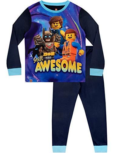 LEGO Movie Pijamas de Manga Larga para niños película Azul 9-10 Años