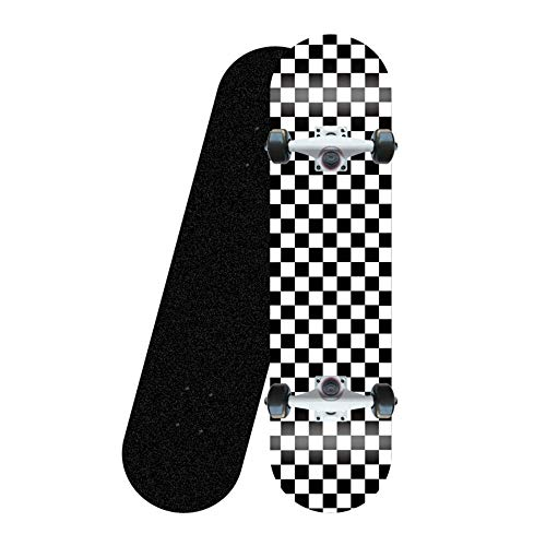 LONGXJA Anfänger-Skateboard, geeignet für Kinder, Jugendliche und Erwachsene Standard-Skateboard, 31