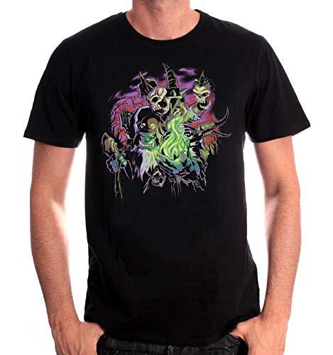 Tshirt homme World of Warcraft - Legion Destroyer of Dreams Gul'Dan - M
