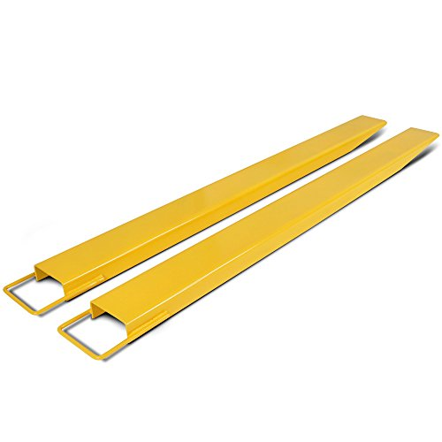 Titan Attachments Pallet Fork Extensions for Forklifts and Loaders, Steel, 84