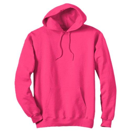 AWDis - Sweat-shirt à capuche - Homme - Rose - Rose fluo - XXL