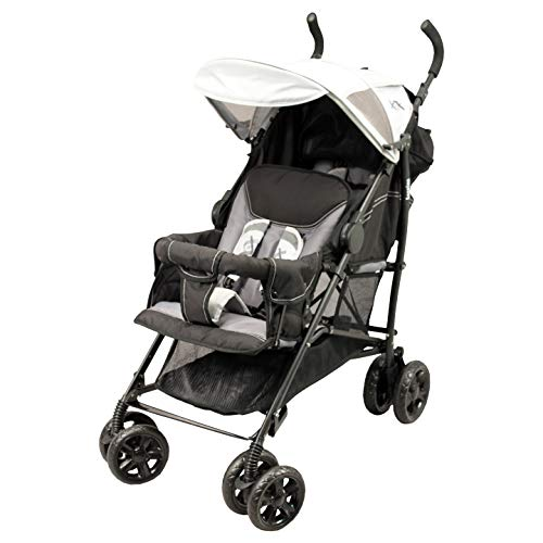 Doppel-Buggy Oslo Black Emotion