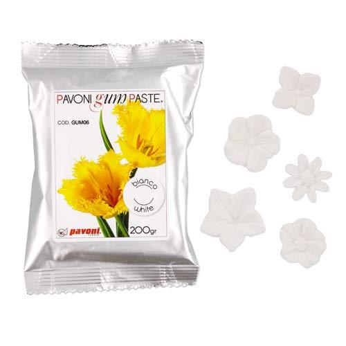 200g Blütenpaste, weiß