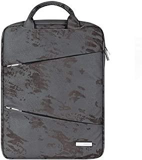 Yuanzengjunfva Large-Capacity Computer Bag Men's Bag Ladies Handbag Laptop Bag 13/14 Inch (Color : Grey, Size : 14 inch)