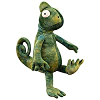 iplusmile カメレオン ぬいぐるみ 人形 おもちゃ トリッキー 子供 グリーン 35cm