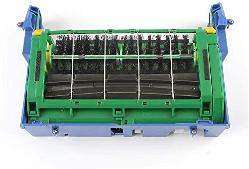 Principal caja del marco del cepillo Partes de aspirador reemplazar para iRobot Roomba 500 Series 560 570 580 (incluye 2 cepillo de rodillos gratis+2 equipos de limpieza)