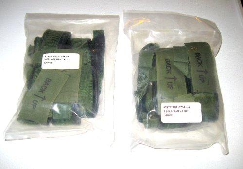 Gentex 2 Army Lightweight Helmet Sweatband Chin Strap Replacement Kit Large