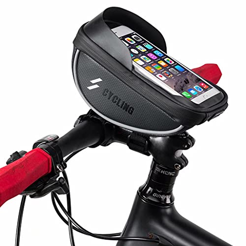 YZX Bolsa Bicicleta, al Aire Libre a Prueba de Agua sombreado montaña de la Bicicleta del Montar a Caballo Frente Haz Bolsa, la Pantalla táctil del teléfono móvil de Ciclo del Bolso del Manillar