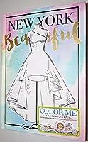 New York Beautiful Fashion is My Passion 大人用カラーミーカラージャーナル
