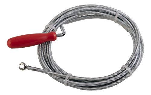 Sanitop-Wingenroth 29129 3 - Albero di pulizia per tubi, zincato, 6 x 3000 mm