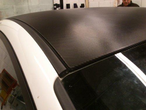 3M Di-Noc Carbon Foil CA-421 / Black 55 cm x 122 cm