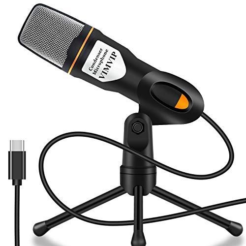 VIMVIP USB Type C Condenser Microphone