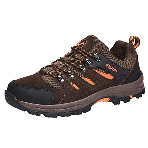 MISSQQ🍑Scarpe da Trekking Uomo Donna Scarpe da Escursionismo Unisex Outdoor Resistente all'Acqua Antiscivolo Stivali Trekking e Passeggiate All'aperto Sneakers