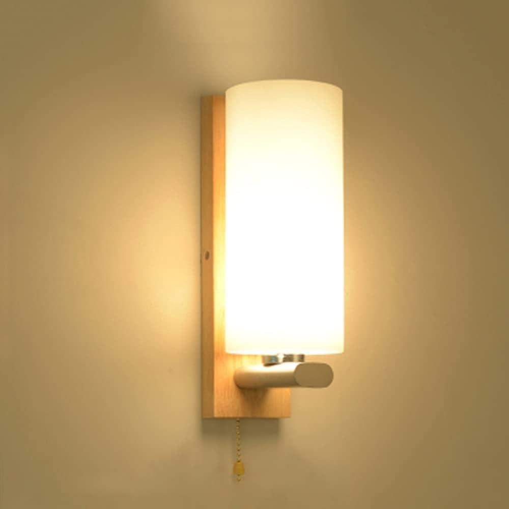FomTai E27 Modern Atlanta Mall NEW Wall Light Fixtures Wa Glass Wrought Wood Iron