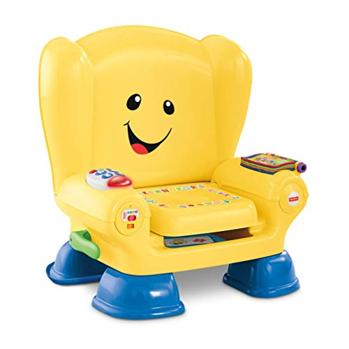 Fisher-Price Laugh & Learn Smart Stages Chair, interactive musical toddler toy – English Edition