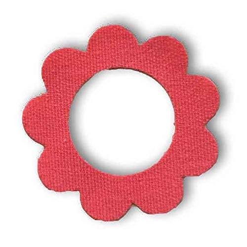 Freestyle Libre Fixierungstapes Blume (10 Stück) - Pink   Diasticker®