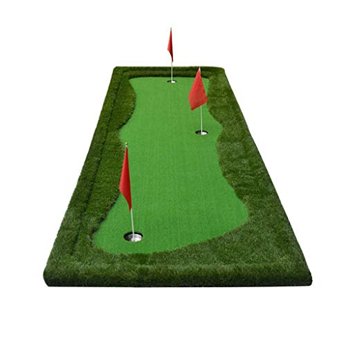 Best Review Of JKLL Golf Indoor Putting Green - Mat for Back Swing Practice, Training - Golfing Aids...