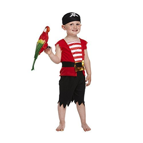 Pirate Boy Costume for Toddlers (3 Years)