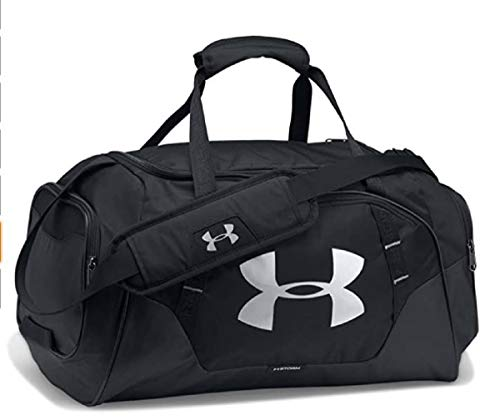Under Armour Undeniable 3.0 Sm Unisex Sport Duffel, Black / Black /...