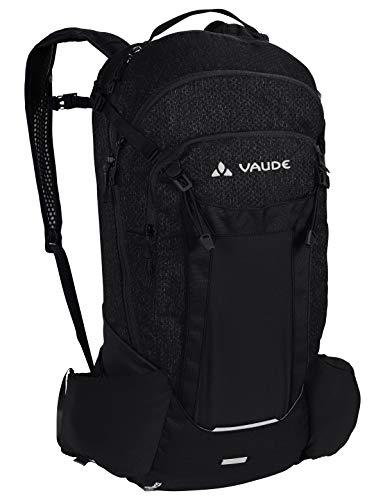 VAUDE Bracket 22 Sac à dos 20-29L Black Uni FR: Taille Unique (Taille Fabricant: One Size)